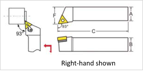 DIAGRAM OF MTJN TOOL HOLDER