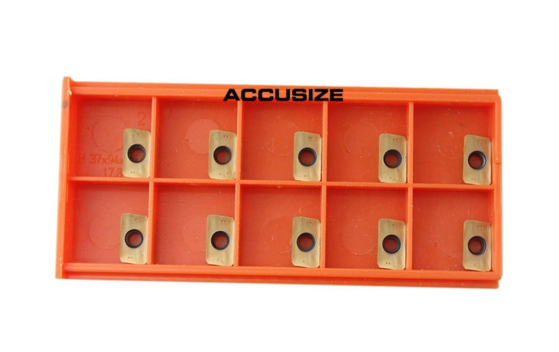"4"" x 1-1/2"" 90 Deg. Square Shoulder Indexable Face Mill w/ 18 pc of APKT11T308 Inserts,"