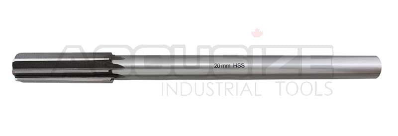 Metric ANSI HSS M2 Straight Flute Chucking Reamers, Straight Shank, Right Hand