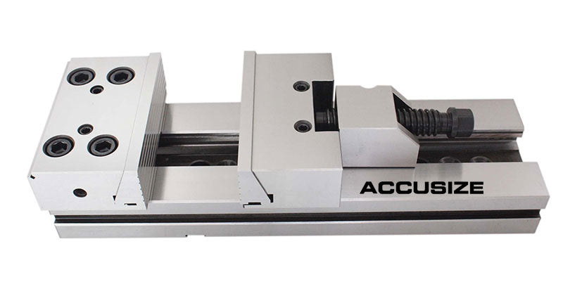 "6"" x 8"" CNC Machine Vise system, Matched Vise Bases +/- 0.0004"", 1202-1025B"