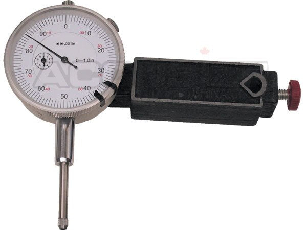 "EG08-0017, Mini. Universal Magnetic Base with 0-1"" dial Indicator"