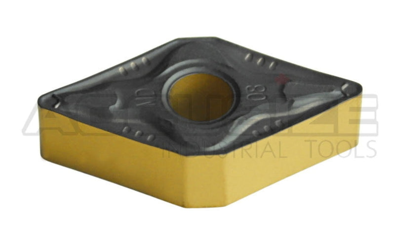 DNMG432 Carbide Inserts, CVD Coated, Black/Yellow, 10 ps/box