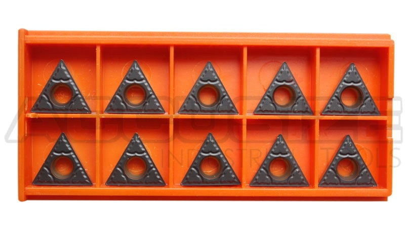 Carbide inserts, CVD Coating, TCMT, Black/Yellow, 10 ps/box