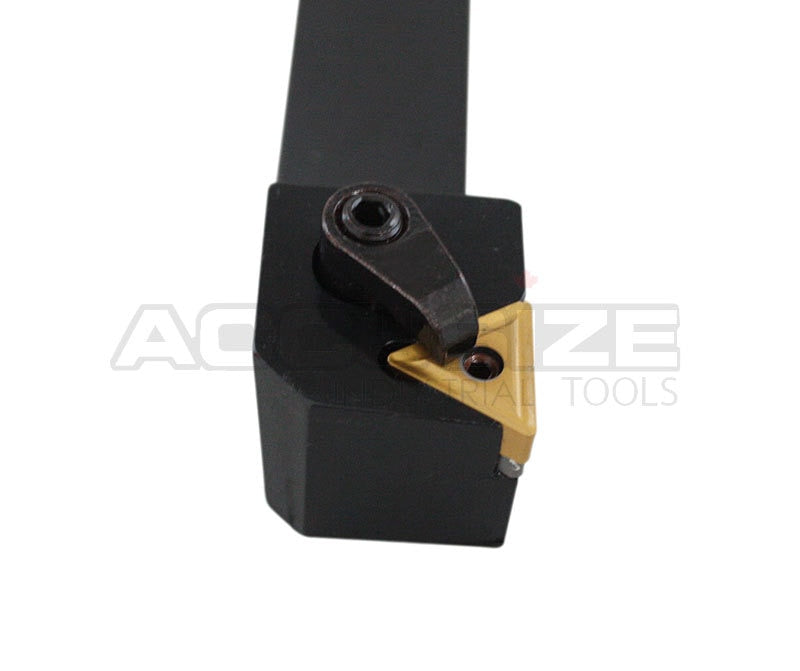 3/4in, 93 Degree, MTJNR 12-3C Lathe Tool Holder for TNMG322 Insert, Right Hand,