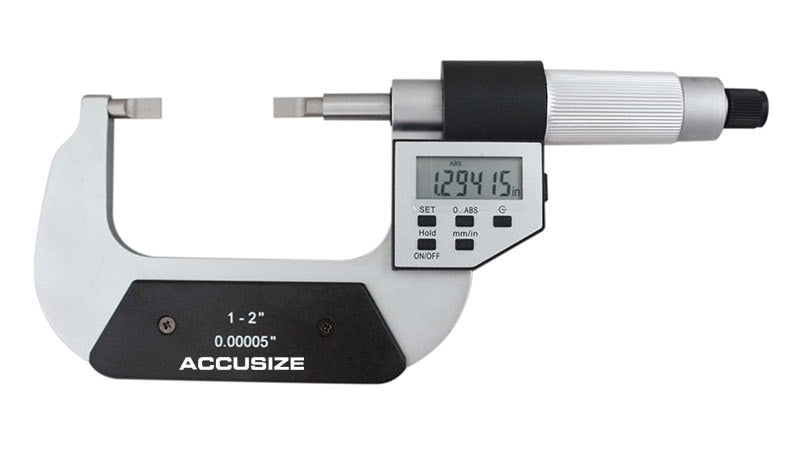 Blade Electronic Digital Micrometers