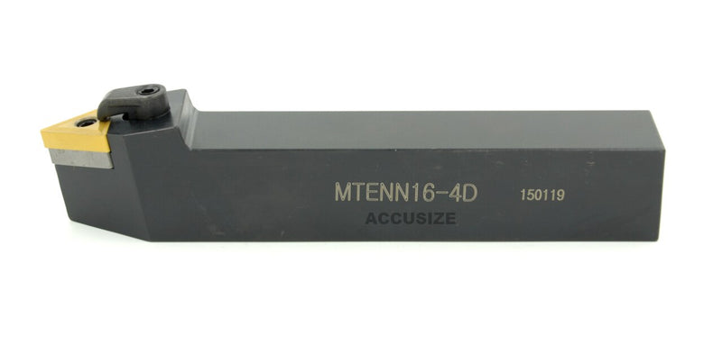 MTENN Toolholders with TNMG Carbide Inserts