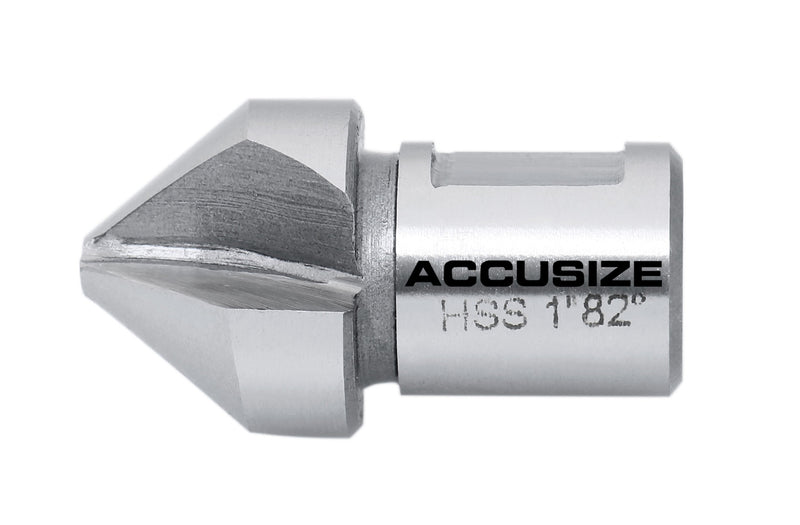 "H.S.S. Countersink for Rota-Cutter,  3/4"" Weldon Shank, 90 Deg and 82 Deg"