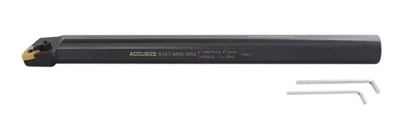 S-MWLN Heavy-Duty Boring Bars with WNMG 43 Insert ( Oxide Body ), Right Hand & Left Hand
