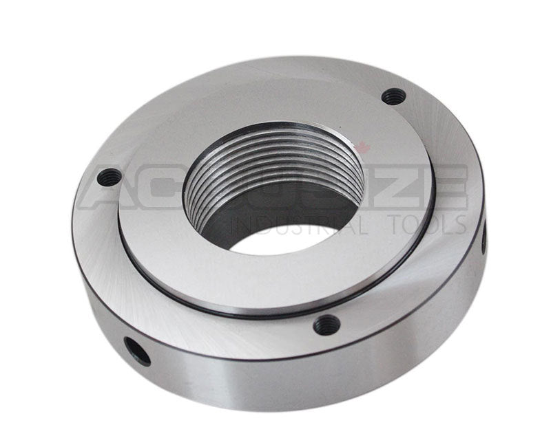 "5"" Semi Finished Threaded Back Plate for Plain Back Lathe Chuck"
