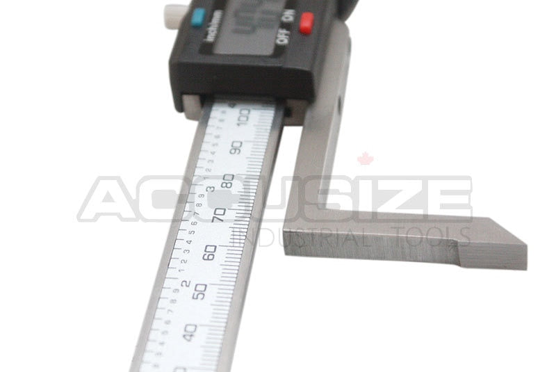 "0-6"" x 0.001"" / 0-150 x 0.01 mm Electronic Digital Height Gauge, 0.0005"" Resolution,"