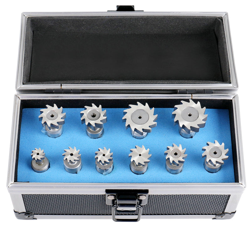 3800-1101, 10 PCS WOODRUFF KEY CUTTER SET