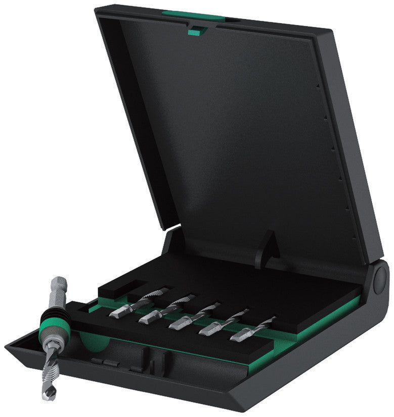 Wera 847/7 Set Combination Drill Bits Set, 05104651001