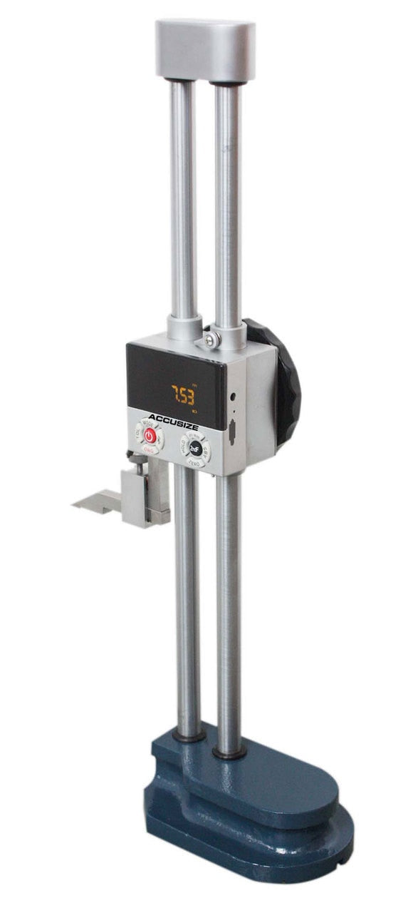 "0-12""/0-300mm Multi Function Double Beam Electronic Digital Height Gage,"