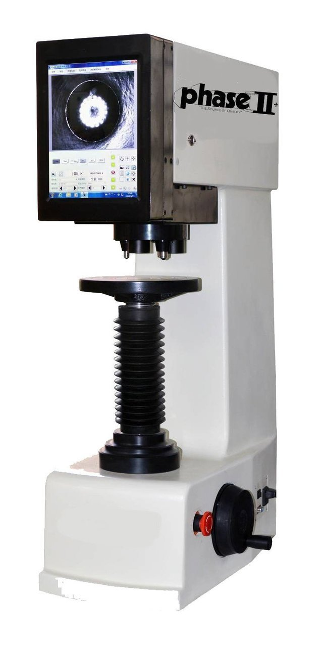 Phase II+, Brinell Hardness Tester w/Built-in Monitor,
