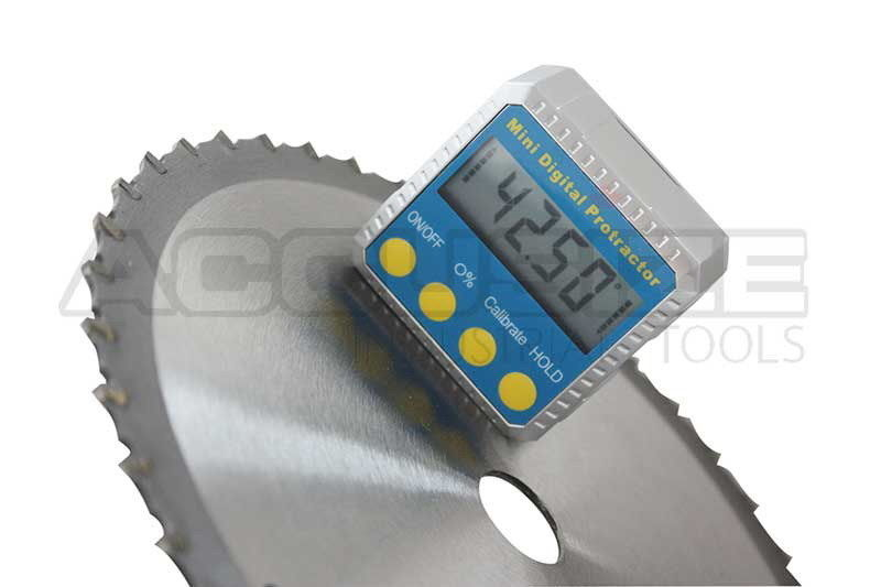 D810-1000, Mini Digital Angle Protractor 0-360 deg. with Magnetic Base