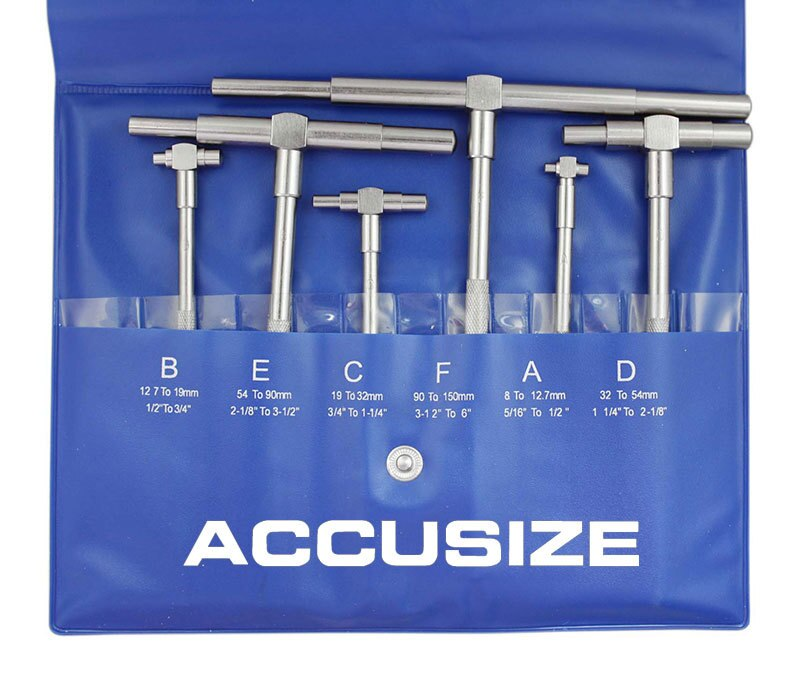 6ps/Set Telescoping Gage Set, EG02-5011