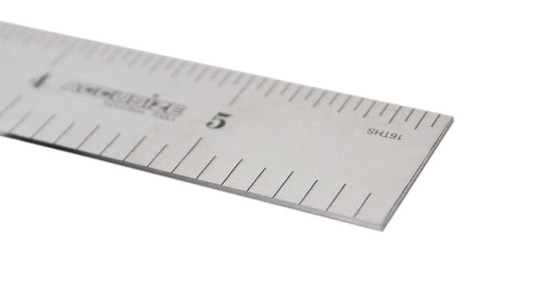 "10 pcs of Rigid Steel Rules 4R, 6"" x 3/4"" width, 0.032""  thickness,"