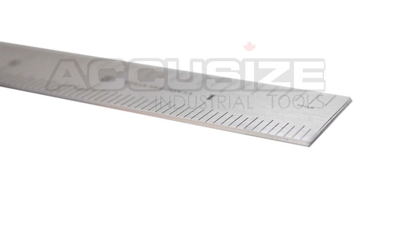 "10 pcs of Stainless Steel Precision Machinist 12"" 4R Ruler/Rule 4R (1/64"" & 1/32"" on one side and 1/16"" & 1/8"" on reverse)"