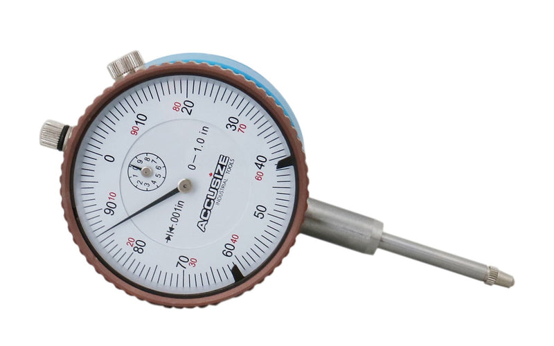 "EG08-1600, Magnetic back with 0-1"" x 0.001"" Dial Indicators"