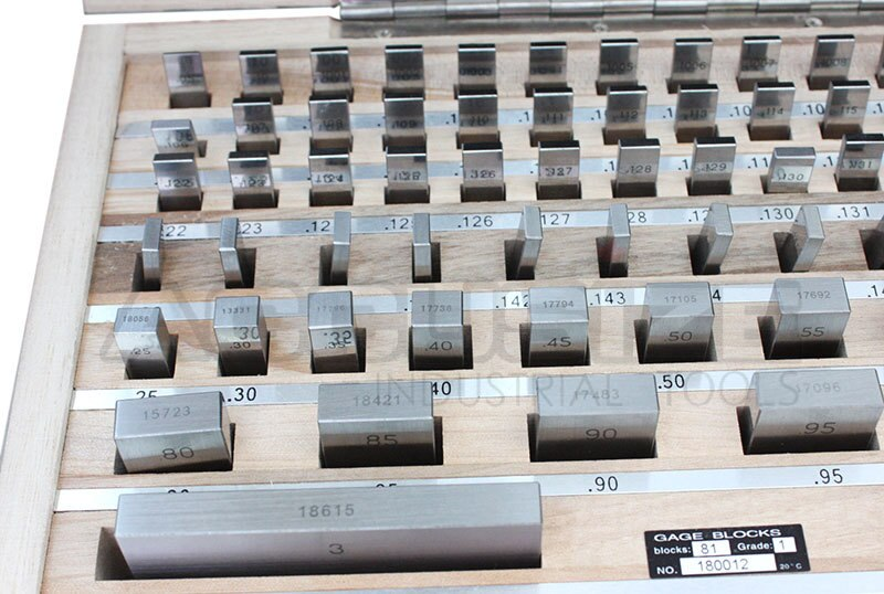 81 pc/set Steel Gage Block Set