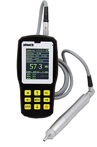 Phase II+,  Portable Ultrasonic  Hardness Tester w/ 1kg Probe(manual),