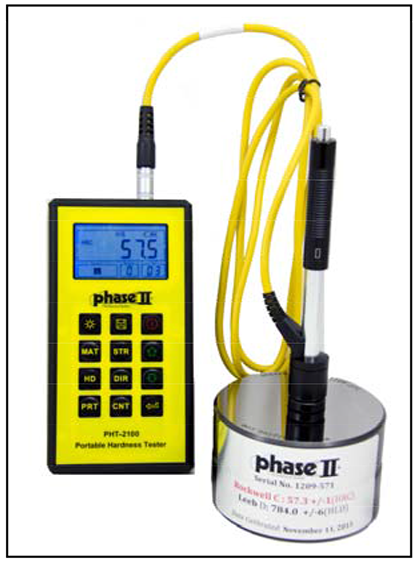 RUGGED Portable Hardness Tester,