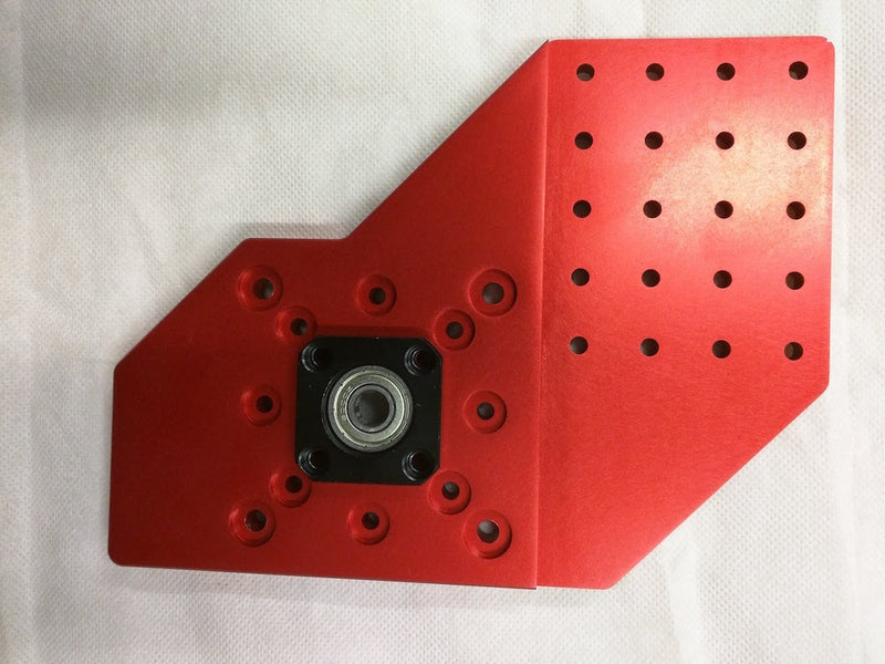 RoverCNC OX - OX Base Plates (4pcs. Base Joining Plates) - RED,