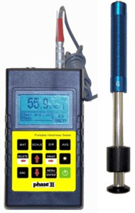 PHT-1750, Portable Hardness Tester For Cast/Rough Surface Parts with G Impact Device