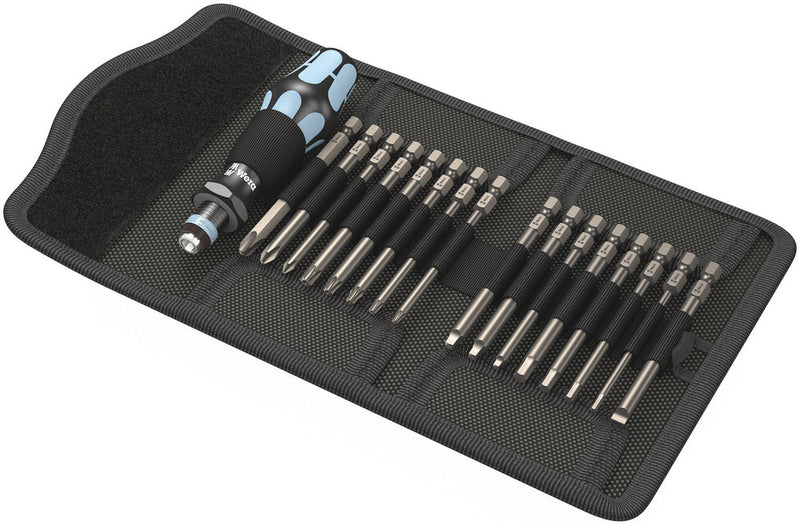 Wera Kraftform Kompakt 60, Imperial, stainless, 17pieces