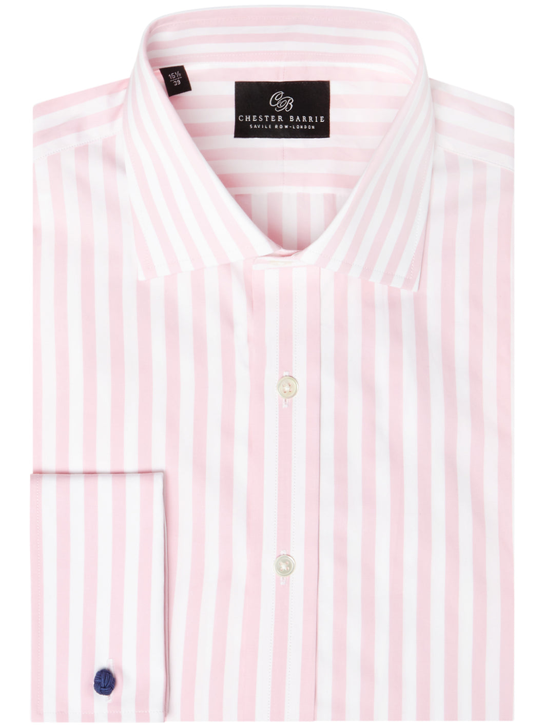 Chester Barrie, Candy stripe shirt, Pink