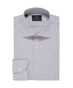 Chester Barrie, Melange Gingham Check, Grey