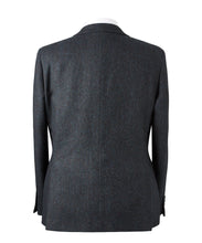Load image into Gallery viewer, Navy Soho Basketweave Jacket