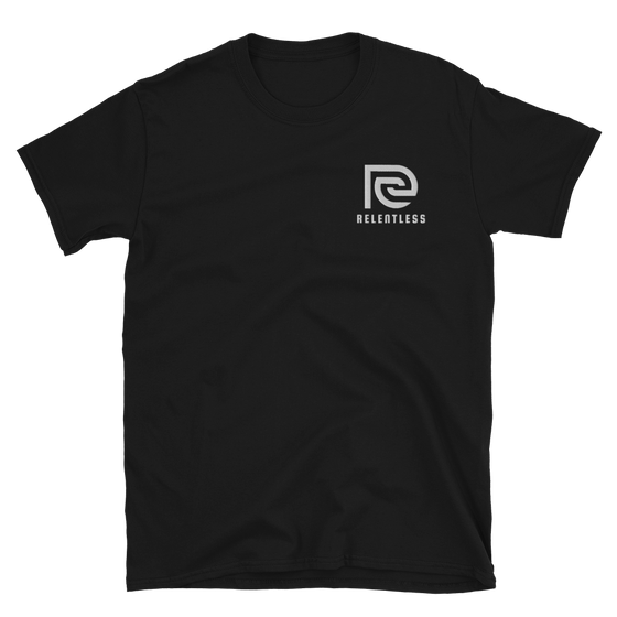 Essential Relentless Embroidered Short-Sleeve Unisex T-Shirt - Relentless Bikes Inc.