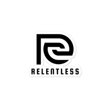 Essential Relentless Bubble-free stickers