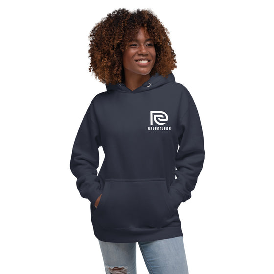 Essential Relentless Unisex Hoodie (with Strings) - Relentless Bikes Inc.