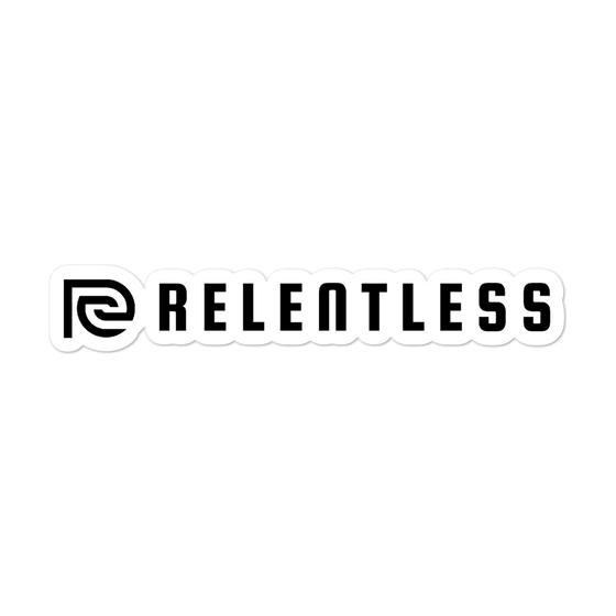 Classic Relentless Bubble-free stickers - Relentless Bikes Inc.