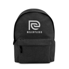 Relentless Embroidered Backpack