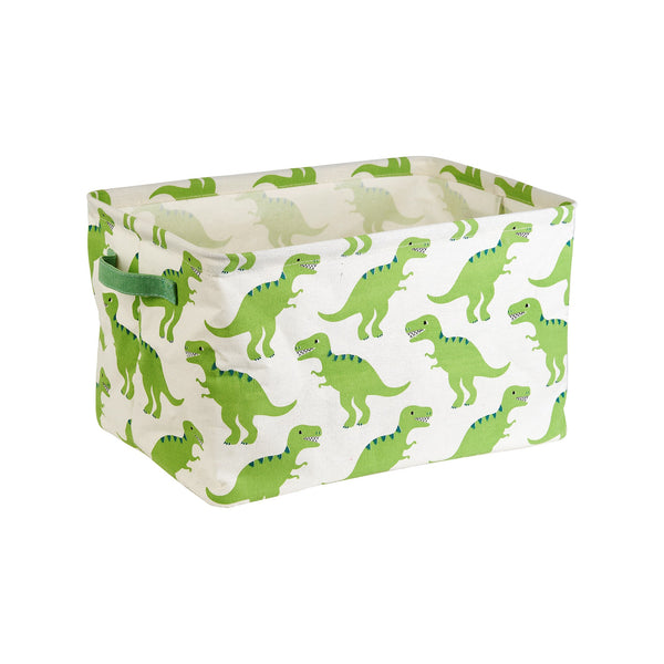 Dinosaur Canvas Storage Boxes (Set of 2) - KMHomeware
