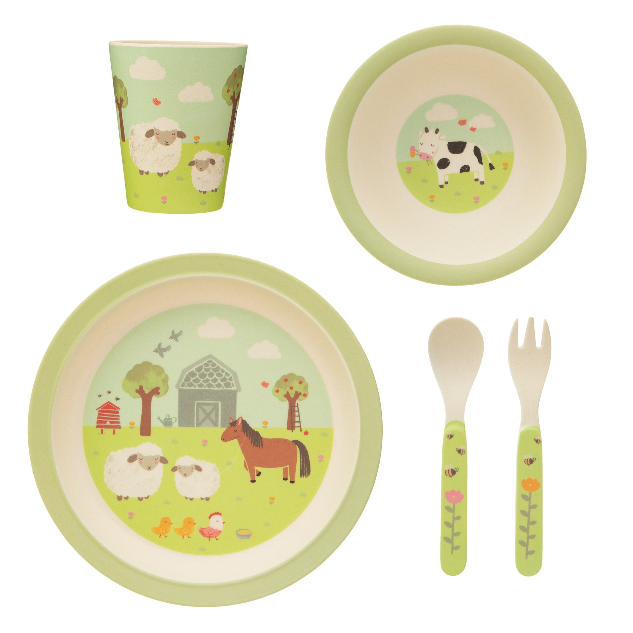 Children's Bamboo Table Set - KMHomeware