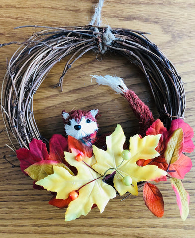 Fox Woodland Wreath - KMHomeware