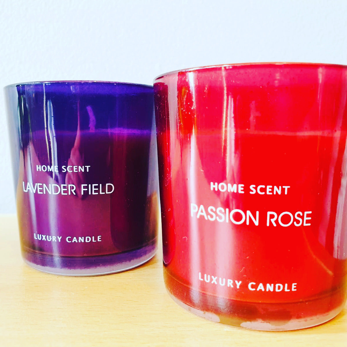 Glass Candle Luxury Collection - KMHomeware