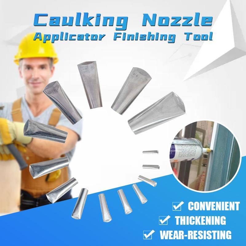 Caulking Nozzle Applicator Finishing Tool
