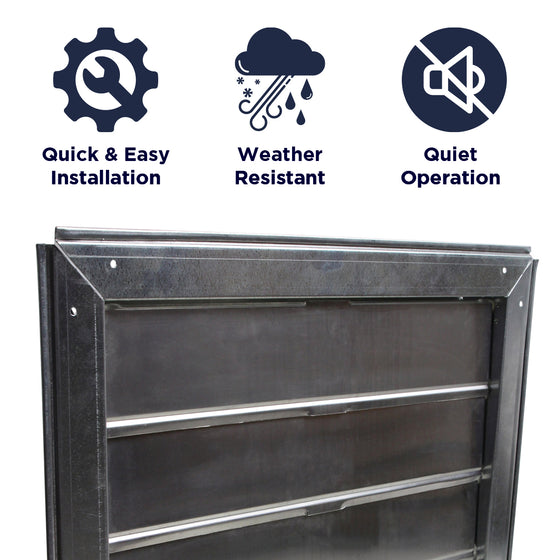 Features of the CX2121AM unit include a quick and easy install, a weather resistant construction, and quiet operation.