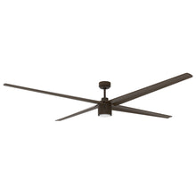 84 in. industrial ceiling fan in oil-rubbed bronze finish.