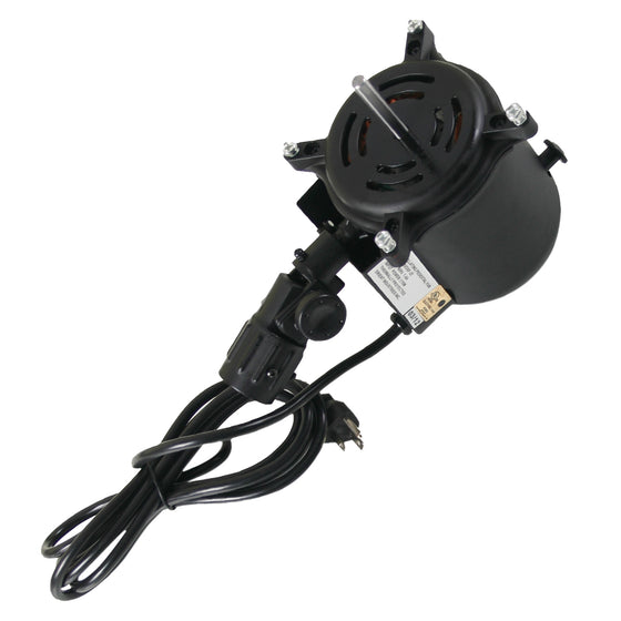 Motor for 22 in. stand fans with pre-wired power cord and plug..