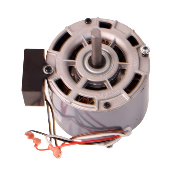 Angled view of motor for Maxx Air 24 in. direct drive drum fans.