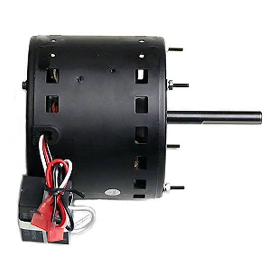 Left side profile view of XE421 showing wiring with terminal clips.
