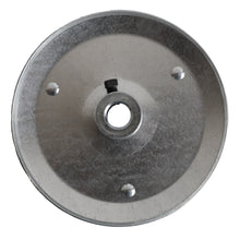 Front of pulley with set screw.