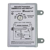 Adjustable Thermostat with Firestat for Power Attic and Exhaust Fans