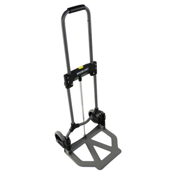 Angled view of the transport dolly with treaded toe.